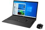 【再生品Aランク】LIFEBOOK AH53/E3 /Windows 10 /Core i7-10510U /1TB SSD 8GB FHD Blu-ray ブライトブラック