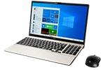 【再生品Aランク】LIFEBOOK AH53/E3 /Windows 10 Home/Core i7-1165G7 /1TB SSD 8GB FHD Blu-ray シャンパンゴールド