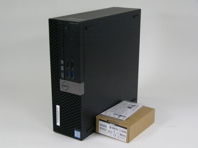 美品 DELL OPTIPLEX 7040 SFF /Windows 10 Pro /Core i7-6700 /500GB 16GB + マウス