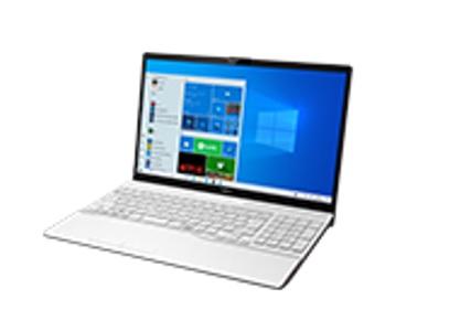 【再生品Aランク】LIFEBOOK AH45/F1 /Windows 10 /AMD Ryzen 5 5500U + Radeon  /1TB SSD/8GB FHD プレミアムホワイト