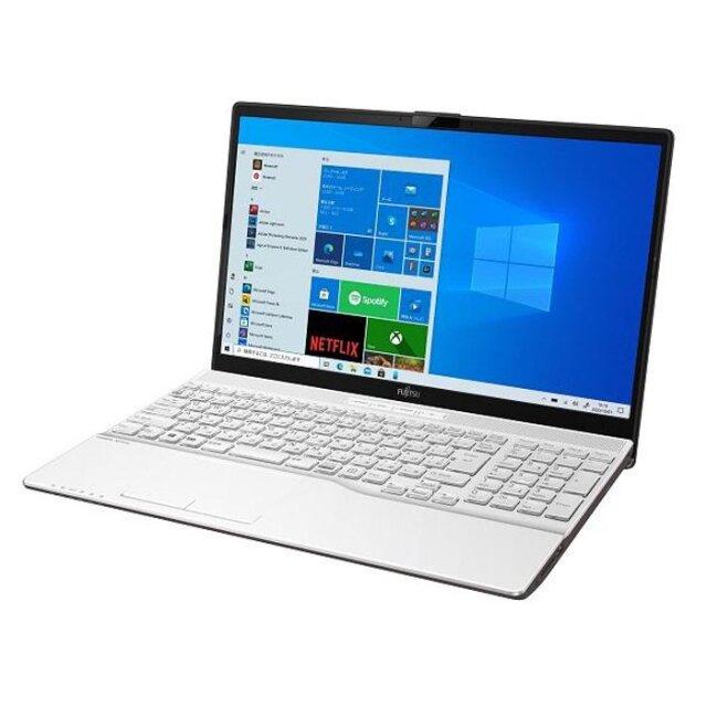 【再生品Aランク】LIFEBOOK AH51/F1 /Windows 10 /AMD Ryzen 7 5700U 512GB SSD 8GB LCD