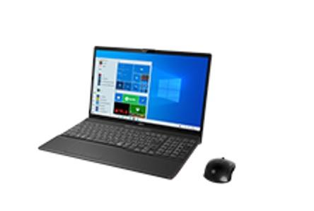 【再生品Aランク】LIFEBOOK AH53/E3 /Windows 10 /Core i7-1165G7 /512GB SSD/8GB FHD ブライトブラック