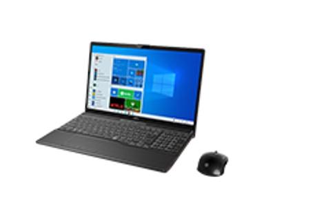 【再生品Aランク】LIFEBOOK AH53/E3 /Windows 10 /Core i7-1165G7 /32GB Optaneメモリー+ 1TB SSD/8GB FHD ブライトブラック