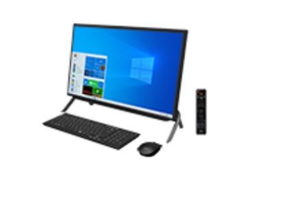 【再生品Aランク】ESPRIMO FH53/E3 /Windows 10 /Celeron 6305 /256GB SSD+1TB HDD /8GB(4GB×2) /23.8型 /FHD /Office /ブラック