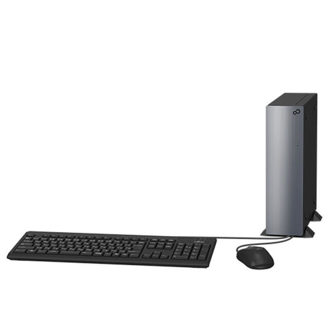 【再生品Aランク】ESPRIMO WD2/E2/Windows 10Pro /Core i7-10700 /1TB SSD +3TB HDD /64GB
