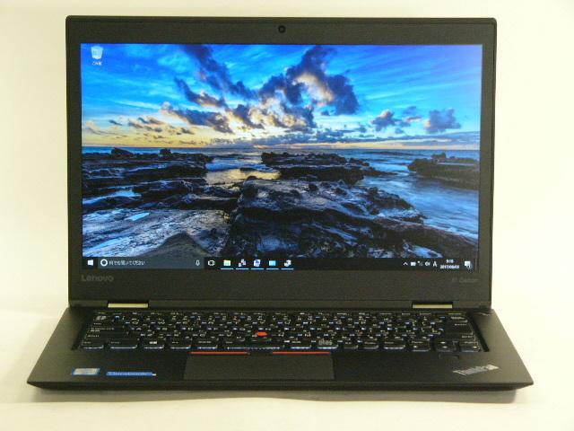 【再生品】ThinkPad X1 Carbon /Win 10 Pro /Core i5-6300U /256GB 8GB WQHD