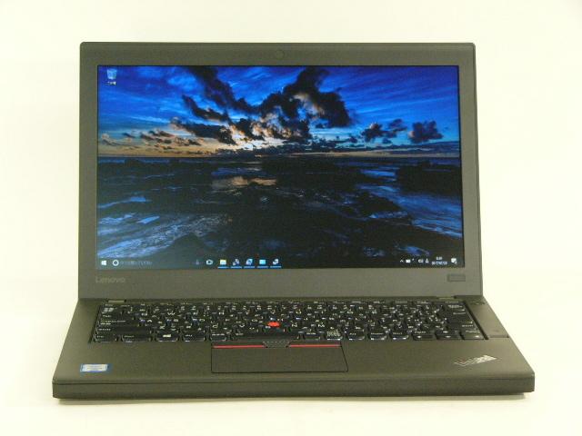 【再生品】ThinkPad X260 /Win 10 Pro /Core i5-6300U /500GB 8GB
