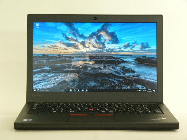 【再生品】ThinkPad X260 /Win 10 Pro /Core i7-6500U /1TB 8GB FHD 6セル