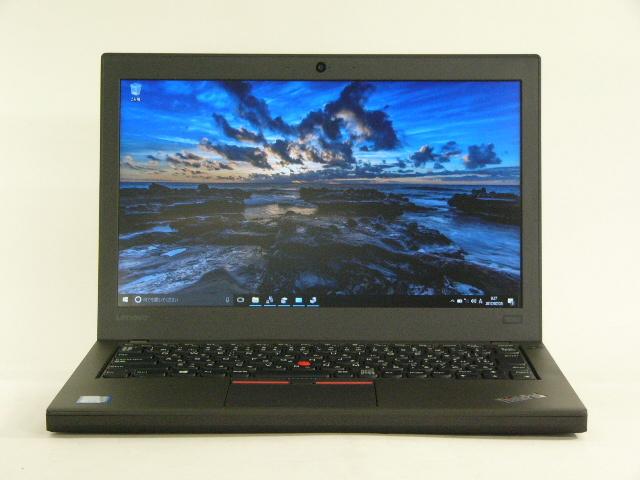 【再生品】ThinkPad X260 /Win 10 Pro /Core i5-6200U /500GB 8GB 6セル
