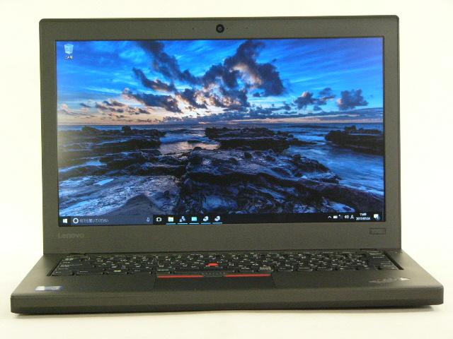 【再生品】ThinkPad X260 /Win 10 Pro /Core i5-6200U /512GB 8GB VGA