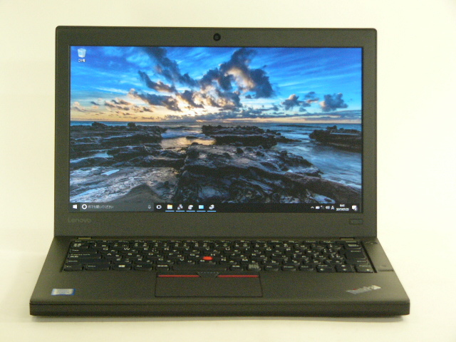【再生品】ThinkPad X260 /Win 10 Pro /Core i5-6200U /500GB 8GB IPS