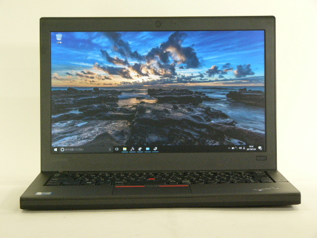【再生品】ThinkPad X260 /Win 10 Pro /Core i5-6300U /256GB 8GB IPS