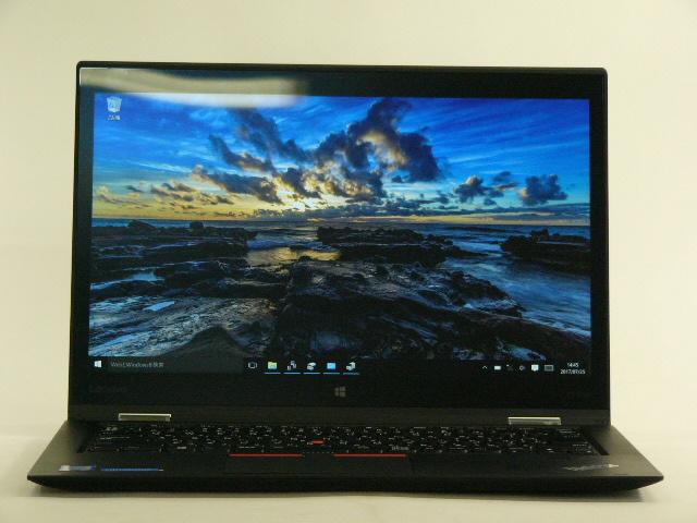 【再生品】ThinkPad X1 Yoga /Win 10 /Core i5-6200U /256GB 8GB FHD タッチ+ペン