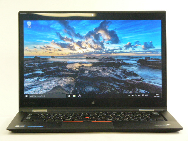 【再生品】ThinkPad X1 Yoga /Win 10 /Core i7-6500U /256GB 8GB WQHD タッチ+ペン