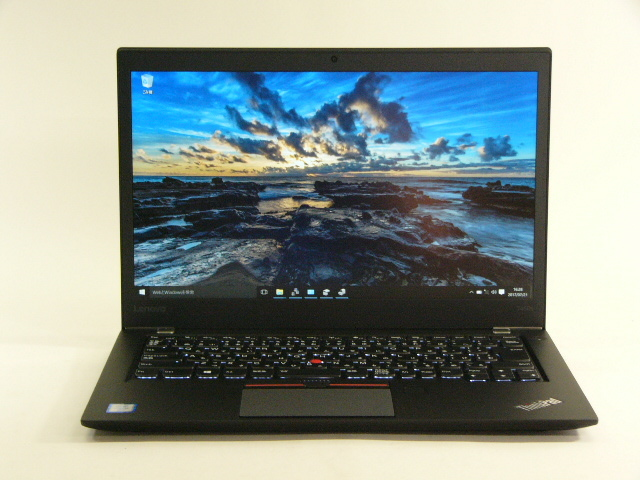 【再生品】ThinkPad T460s /Win 10 /Core i7-6600U /256GB 12GB FHD
