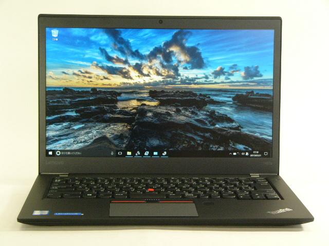 【再生品】ThinkPad T460s /Win 10 Pro /Core i5-6300U /256GB 12GB FHD