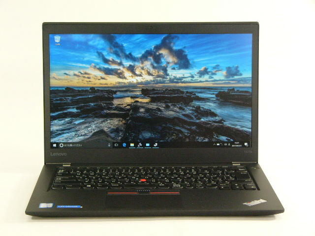 【再生品】ThinkPad T470s /Win 10 Pro /Core i5-7200U /128GB 8GB FHD