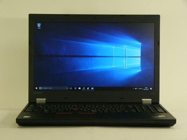 【再生品】ThinkPad L570 /Win 10 Enterprise /Core i7-7500U /256GB 8GB