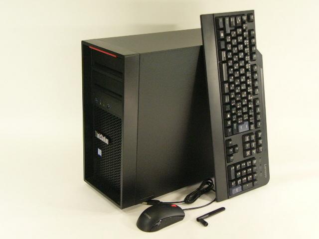 【再生品】ThinkStation P410 /Win 10 Pro /Xeon E5-1650 /512GB+3TBx2 32GB M5000 無線LAN