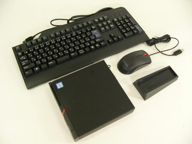 【再生品】ThinkCentre M900 Tiny /Win 10 Pro /Core i5-6500T /256GB 8GB VGA