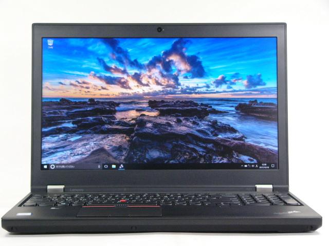 【再生品】ThinkPad P51 USキー  /Win 10 /Core i7-7700HQ /1TB SSD+500GB 32GB 4K M1200