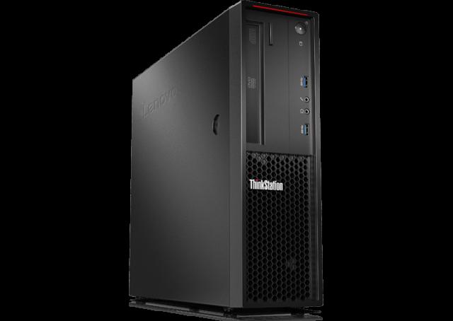 ■新品保証付■ThinkStation P320 SFF /Windows 10 Pro /Core i5-7500 /512GB SSD 16GB Quadro P600 BD