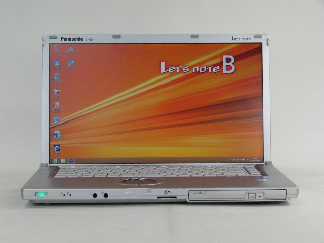 Panasonic Let's Note CF-B11 /Win 8 Pro /Core i5-3340M /256GB 8GB FHD