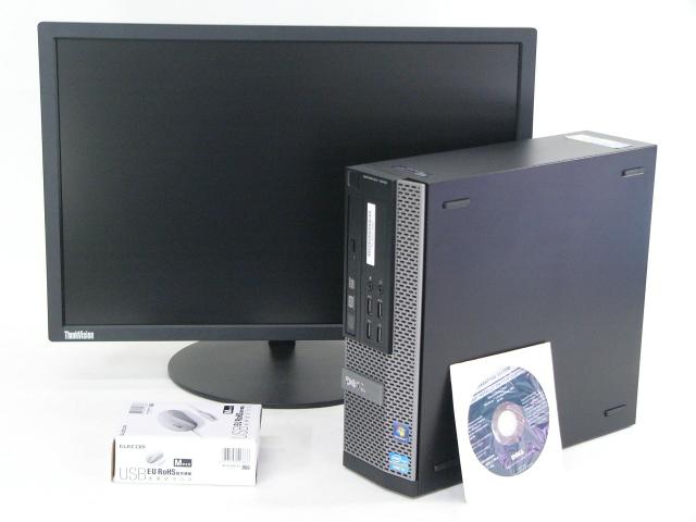 DELL OPTIPLEX 7010 SFF /Win 7 Pro /Core i5-3570 /500GB 4GB 22モニター付