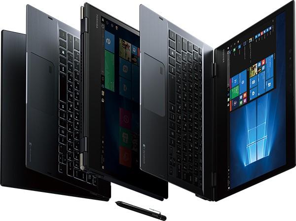 【展示品】dynabook VC72/B PV72BBGCKPBAA11 /Win 10 Pro /Core i5-7300U /256GB 8GB FHD タッチ+ペン 顔認証