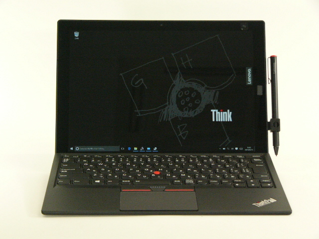 【再生品】ThinkPad X1 Tablet /Win 10 Pro /Core m5-6Y54 /128GB 8GB FHD+ LTE ペン