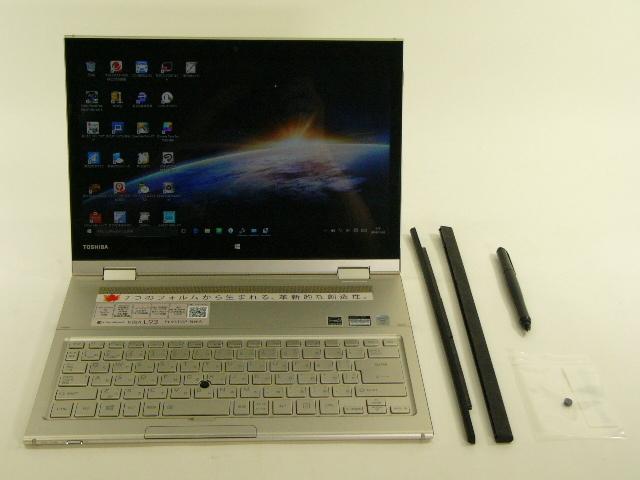 【再生品】dynabook KIRA L93/T PL93TGP-NWA /Win 10 /Core i7-5500U /128GB 8GB WQHD タッチ+ペン