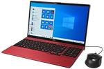 【再生品】LIFEBOOK AH40/D3 /Windows 10 /AMD Athlon Silver 3050U /256GB SSD 4GB DVD ガーネットレッド