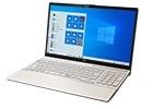 【再生品】LIFEBOOK AH53/E2 /Windows 10 /Core i7-10510U /512B SSD 8GB FHD DVD シャンパンゴールド マウス欠品