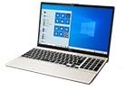 【再生品Aランク】LIFEBOOK AH53/E2 /Windows 10 /Core i7-10510U /1TB SSD 8GB FHD Blu-ray シャンパンゴールド マウス無