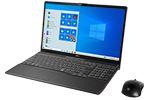【再生品】LIFEBOOK AH77/D3 /Windows 10 /Core i7-9750H /32GB Optane + 512GB SSD + 1TB 8GB FHD Blu-ray Office ブライトブラック