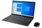 【再生品Aランク】LIFEBOOK AH77/E2 /Windows 10 /Core i7-10710U /32GB  Optane + 1TB SSD 8GB FHD Blu-ray ブライトブラック
