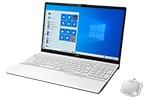 【再生品】LIFEBOOK AH77/E2 /Windows 10 /Core i7-10710U /1TB SSD 16GB FHD Blu-ray プレミアムホワイト