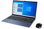 【再生品】LIFEBOOK AH78/D3 /Windows 10 /Core i7-9750H / 512GB SSD + 1TB 16GB FHD Blu-ray Office メタリックブルー