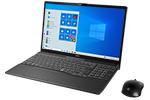 【再生品】LIFEBOOK AH79/D3 /Windows 10 /Core i7-9750H /32GB Optane + 512GB SSD 8GB FHD Blu-ray Office ブライトブラック