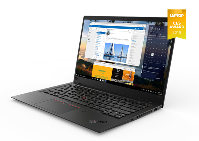 【再生品】ThinkPad X1 Carbon 2018年モデル /Windows 10 /Core i7-8650U /256GB SSD 16GB HDR WQHD キズ