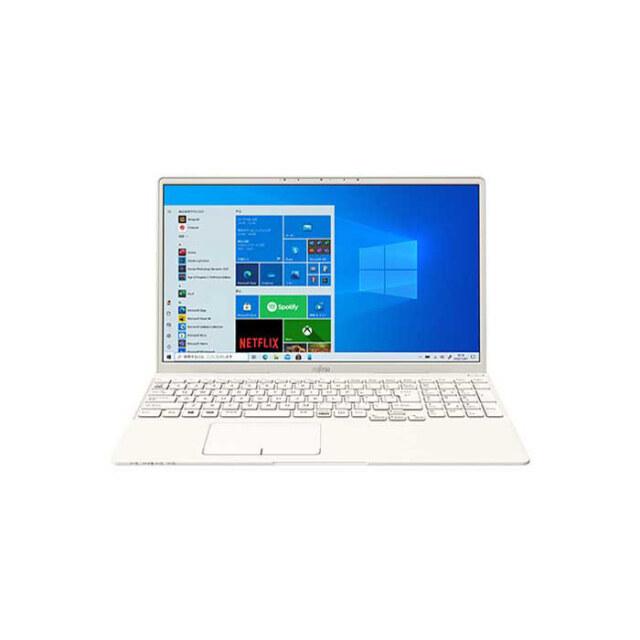 【再生品Aランク】LIFEBOOK TH77/E3 /Windows 10 /Core i7-1165G7 /32GB 8GB FHD アイボリーホワイト