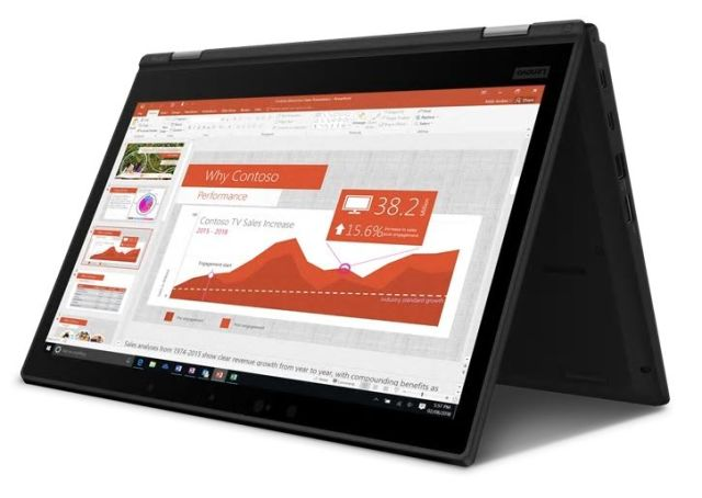■新品保証付■ThinkPad L390 Yoga /Windows 10 /Core i5-8265U /256GB SSD 8GB FHD タッチ+ペン