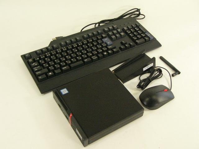 【再生品】ThinkCentre M700 Tiny /Win 10 Pro /Core i3-6100T /128GB 8GB 無線LAN VGA
