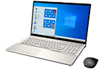 【再生品Aランク】LIFEBOOK NH78/E3 /Windows 10 /AMD Ryzen 7 4700U /1TB SSD 8GB 17.3型 FHD Blu-ray シャンパンゴールド