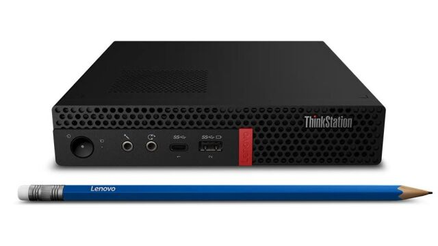 【再生品】ThinkStation P330 Tiny /Windows 10 Pro /Core i7-9700T /512GB SSD 16GB P620