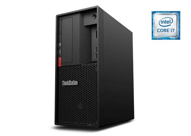 ■新品保証付■ThinkStation P330 Tower /Windows 10 Pro /Core i7-9700 /512GB SSD + 1TB 32GB P2200