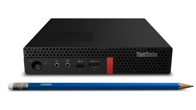 ■新品保証付■ThinkStation P330 Tiny /Windows 10 Pro /Core i7-8700 /256GB SSD + 1TB 16GB Office 無線