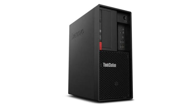 【再生品】ThinkStation P330 Tower /Windows 10 Pro /Core i7-8700 /256GB SSD + 1TB 16GB P620 BD