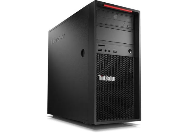 【再生品】ThinkStation P520c /Windows 10 Pro /Xeon W-2102 /256GB SSD + 2TB 32GB P600