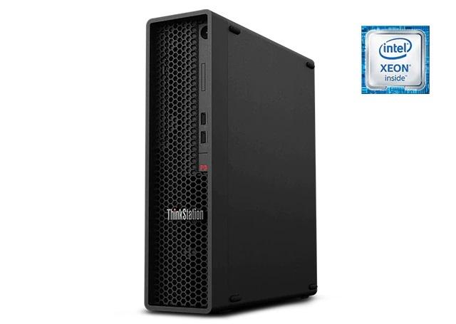 ■新品保証付■ThinkStation P340 SFF /Windows 10 Pro /Core i7-10700 /512GB SSD + 1TB 16GB Office Quadro P620